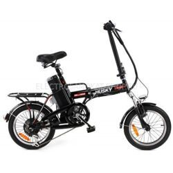 ЭЛЕКТРОВЕЛОСИПЕД WELLNESS HUSKY 350 BLACK
